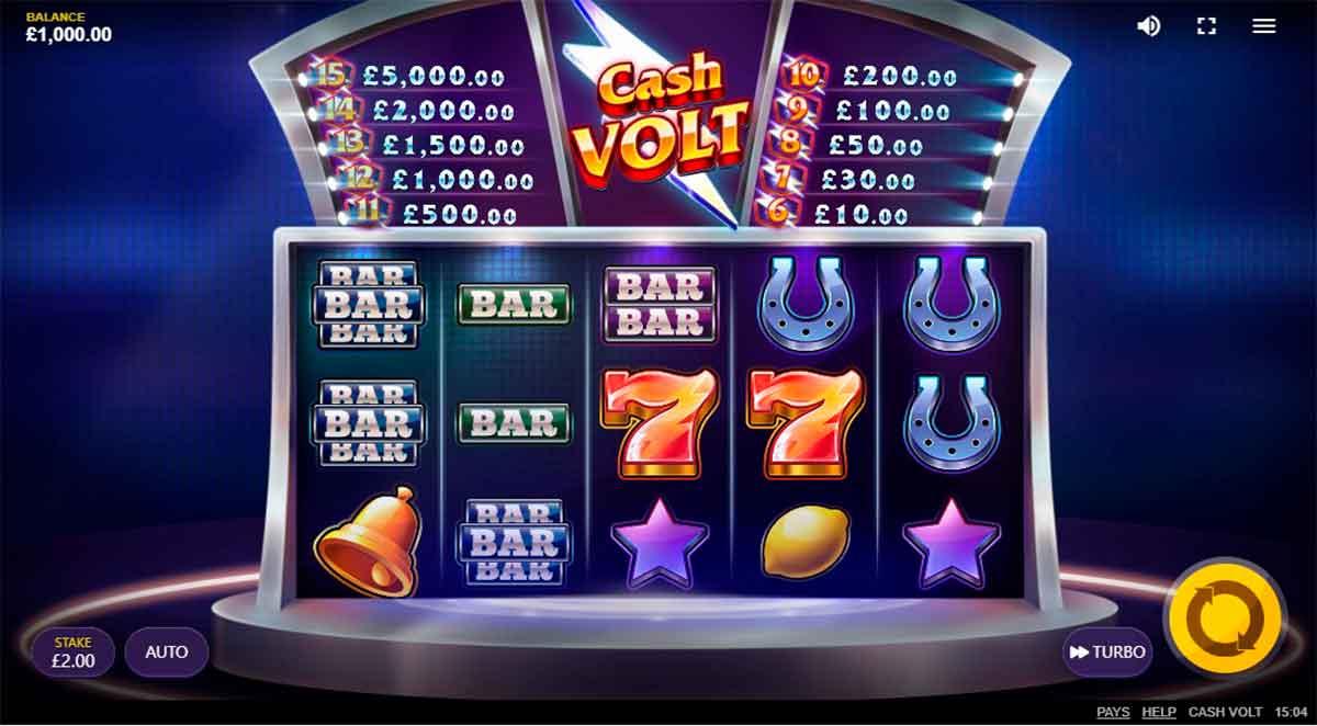 Play Free Cash Volt Slot