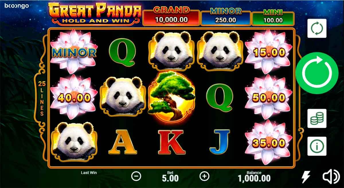 Play Free Great Panda Slot