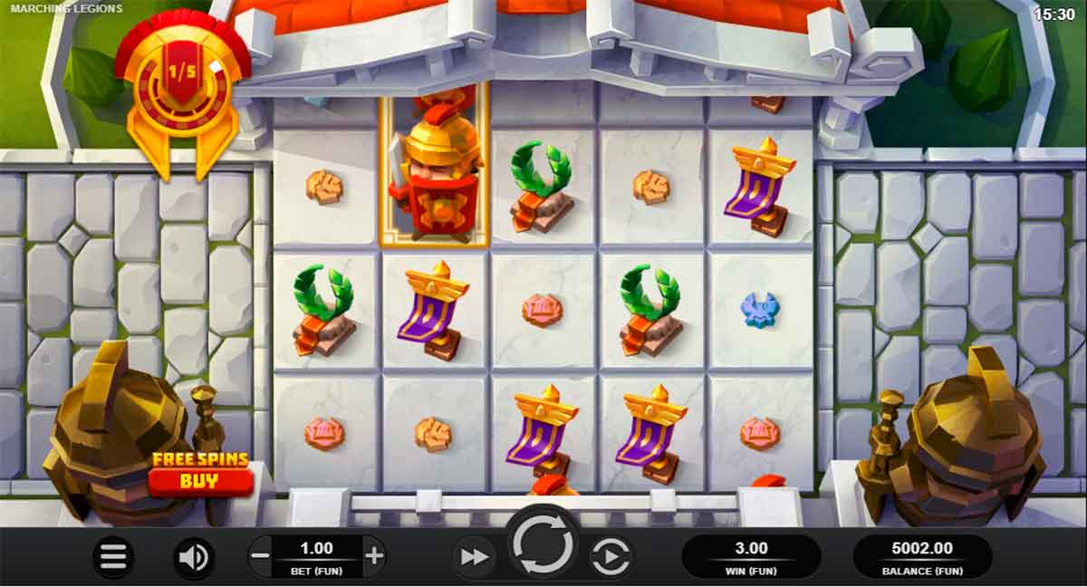 Play Free Marching Legions Slot