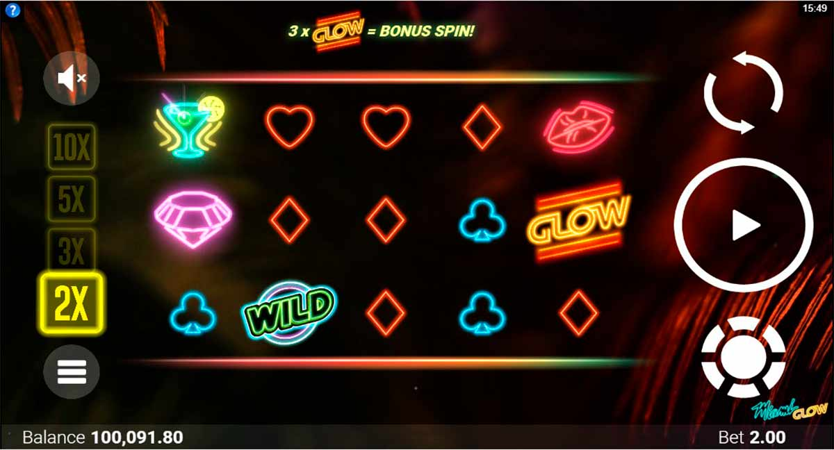 Play Free Miami Glow Slot