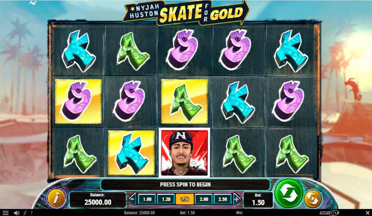 Play Free Nyjah Huston - Skate for Gold Slot