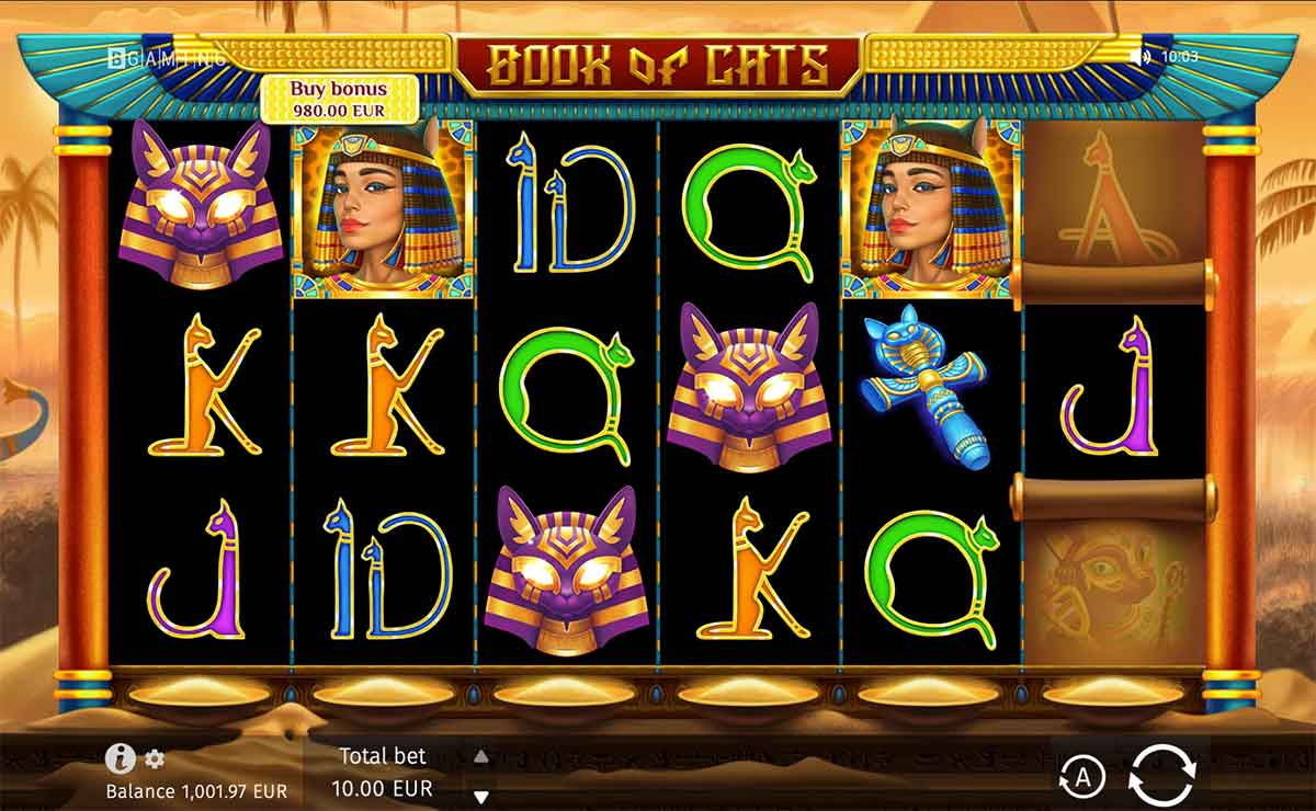 Play Free Book Of Cats Slot