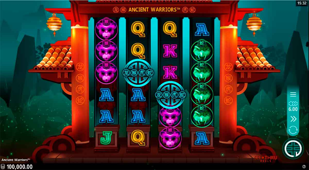Play Free Ancient Warriors Slot