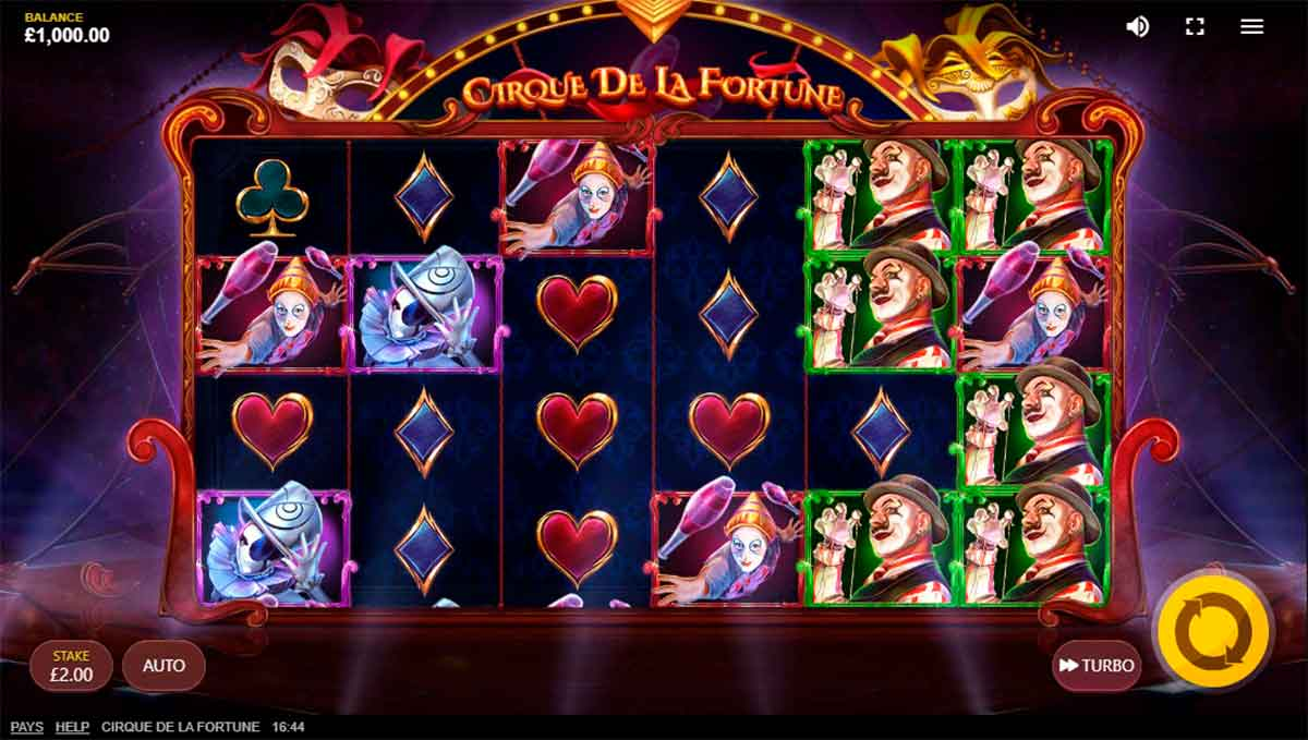 Play Free Cirque De La Fortune Slot