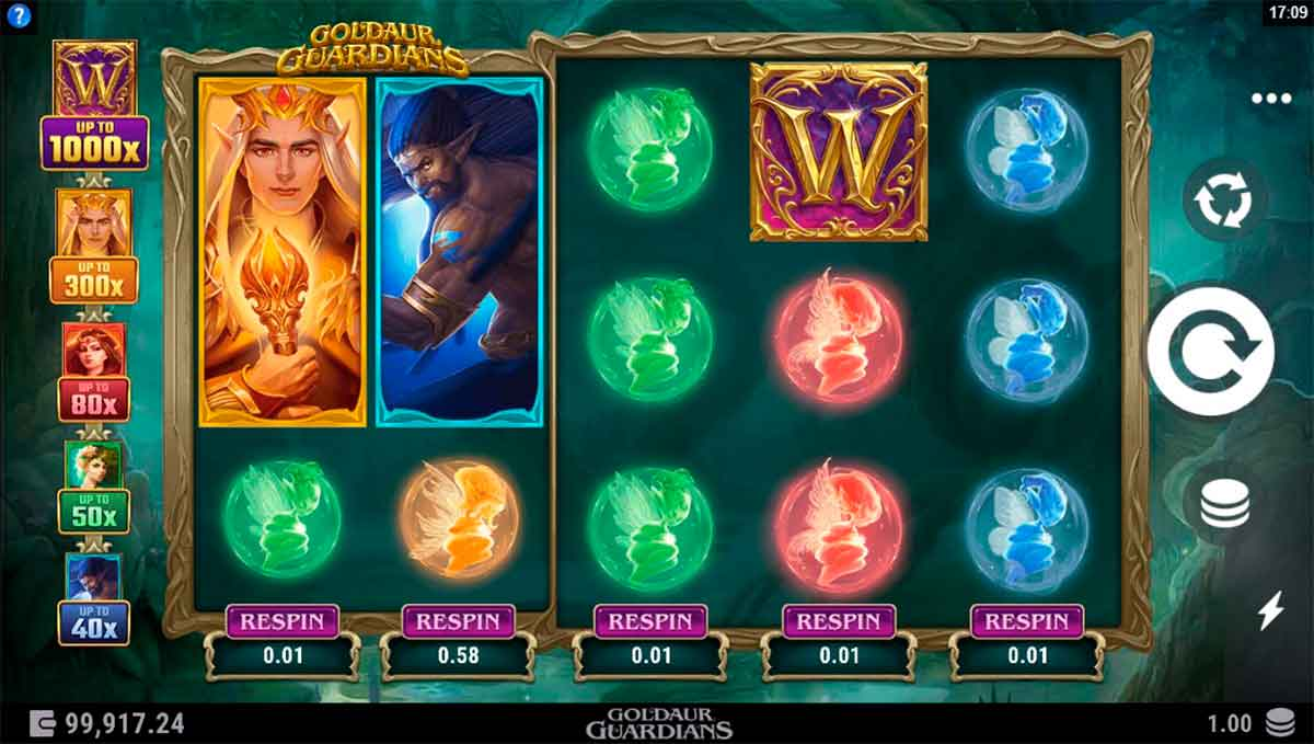 Play Free Goldaur Guardians Slot