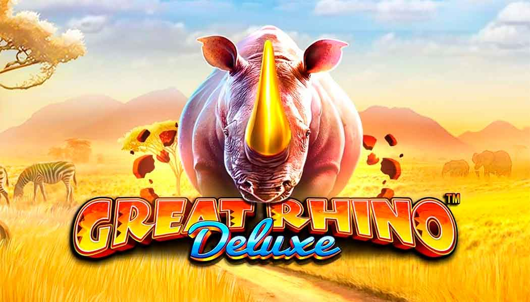 Great Rhino Deluxe Slot Review | Play Free Great Rhino