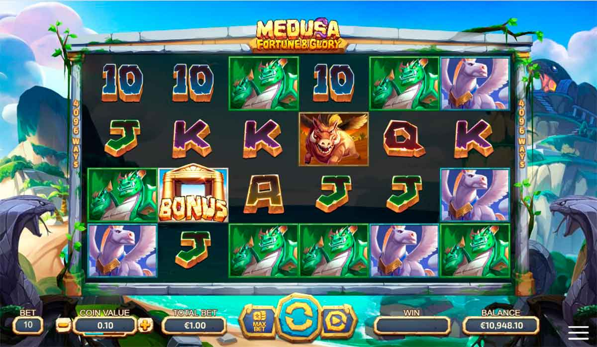 Play Free Medusa - Fortune and Glory Slot